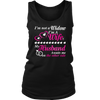 I'm not a widow. I'm a wife. My husband awaits me on the other side., District Womens Tank