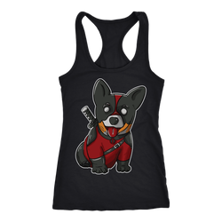 CorgiPool Next Level Racerback Tank