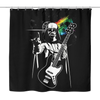 Funny Pink Floyd Darth Vader The Dark Side of the Death Star., Shower Curtain