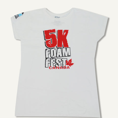 Womens Foam Fest Canada T-shirt