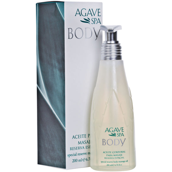 Special Reserve Agave Body Massage Oil <P> Soothing Relaxation - Agave Nectar Spa Natural Skincare  - 2