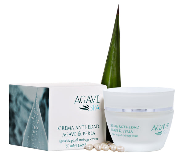 Anti-Age Cream Agave & Pearl Natural lift & Moisture - Agave Nectar Spa Natural Skincare  - 2