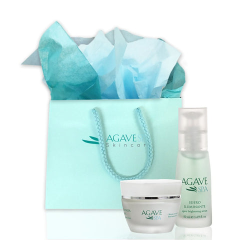 Agave Brightening & Moisturizing  Kit - Agave Nectar Spa Natural Skincare