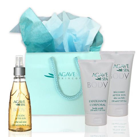Agave body Sun Kit-Enjoy the sun with no regrets - Agave Nectar Spa Natural Skincare