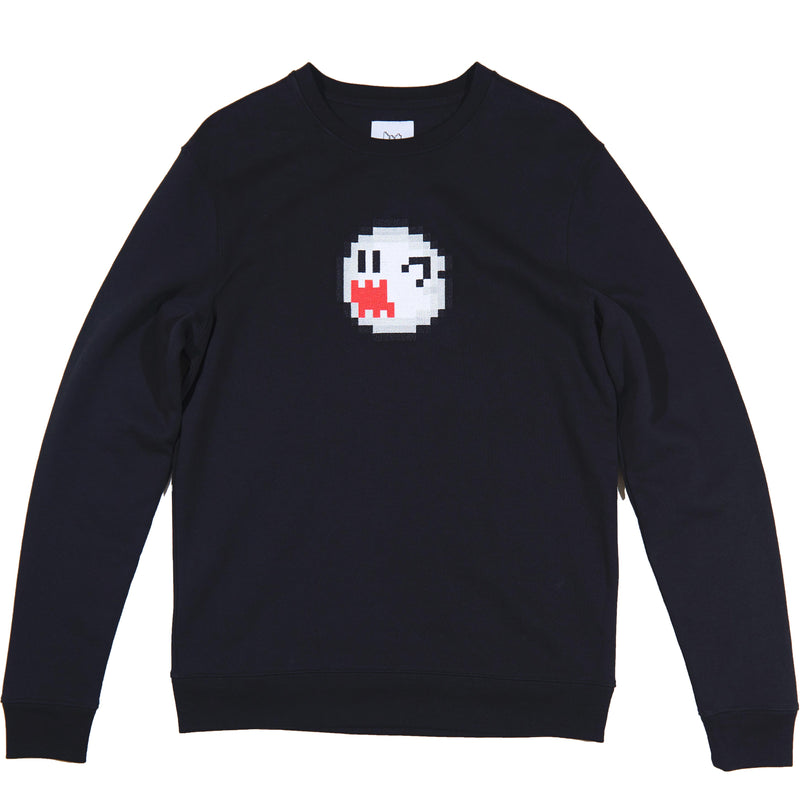 Boo Ghost Sweatshirt - BRICKTOWN x SUPER MARIO ™