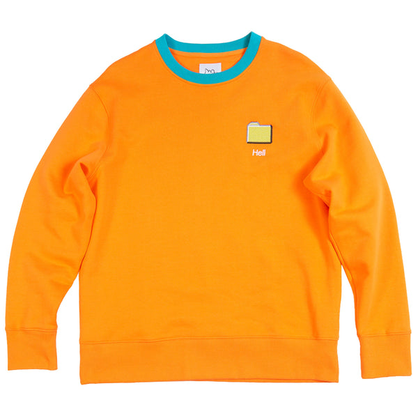 Hell Folder Sweatshirt
