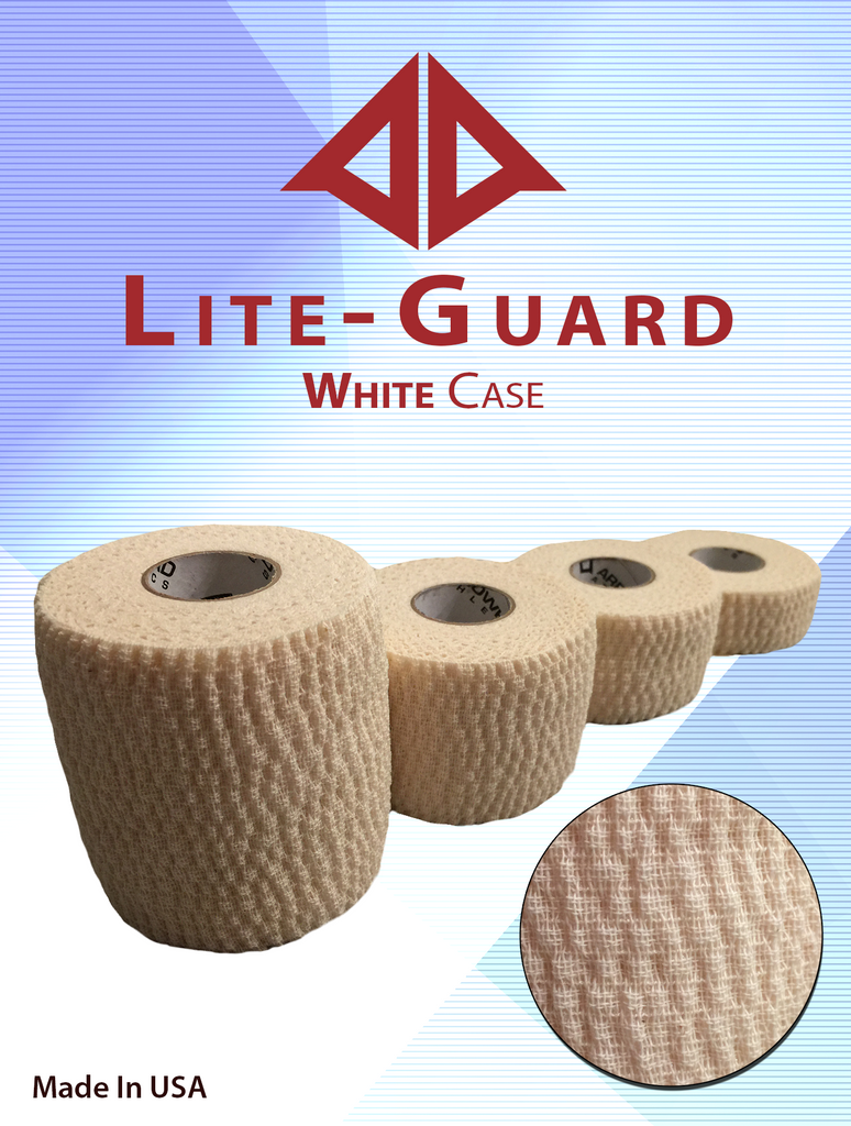 athletic tape, Lite-Guard White Stretch Tape Case (Latex Free!), Arrowhead Athletics