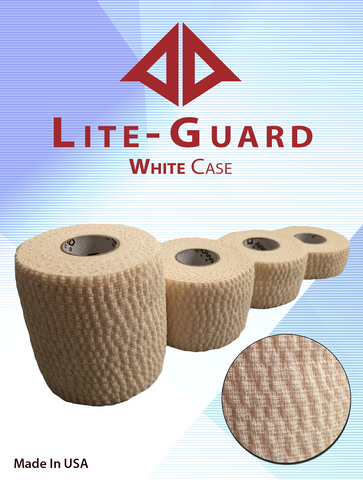 athletic tape, Lite-Guard White Stretch Tape Case, Arrowhead Athletics