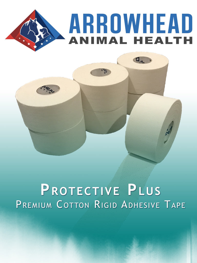 athletic tape, Protective Plus Premium, Porous Rigid Tape (Latex Free!) (15 YARDS per roll), Arrowhead Athletics