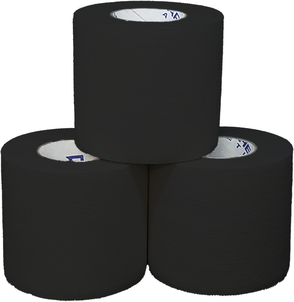 athletic tape, Thin-Flex Black Tape (Latex Free!), Arrowhead Athletics