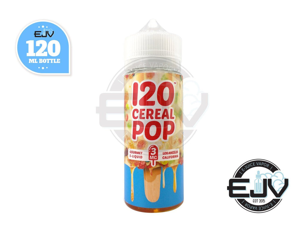 120 Cereal Pop by Mad Hatter Juice 120ml