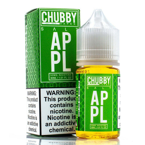 Apple Salt by Chubby Bubble Vapes Salts 30ml Clearance E-Juice Chubby Salts