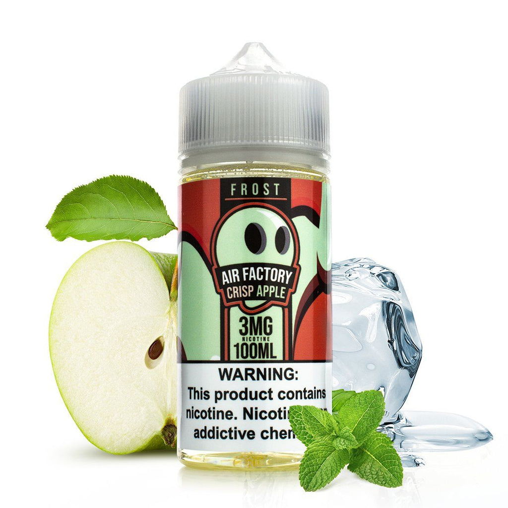 Crisp Apple by Air Factory Frost 100ml DISCONTINUED EJUICE DISCONTINUED EJUICE