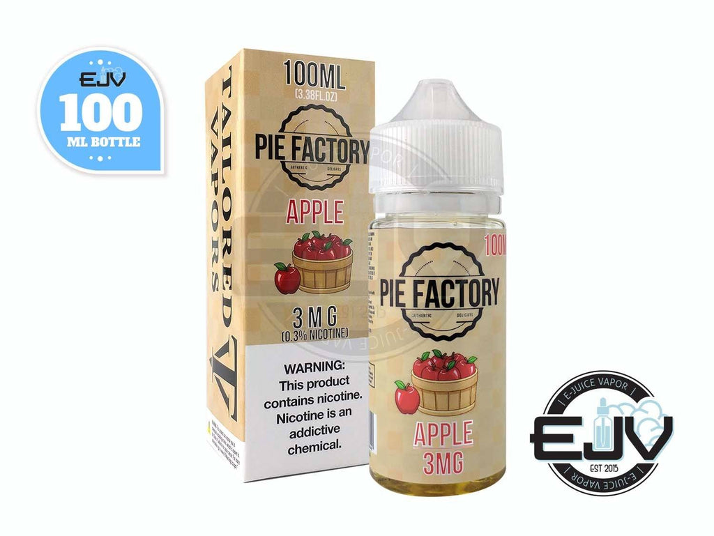 Apple by Pie Factory 100ml Clearance E-Juice Pie Factory