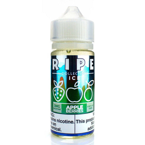 Apple Berries On ICE by Ripe Collection 100ml E-Juice Vape 100 E-Juice