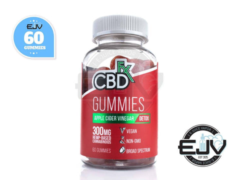 CBDfx Apple Cider Vinegar Gummies 300mg - 60CT CBD CBDfx