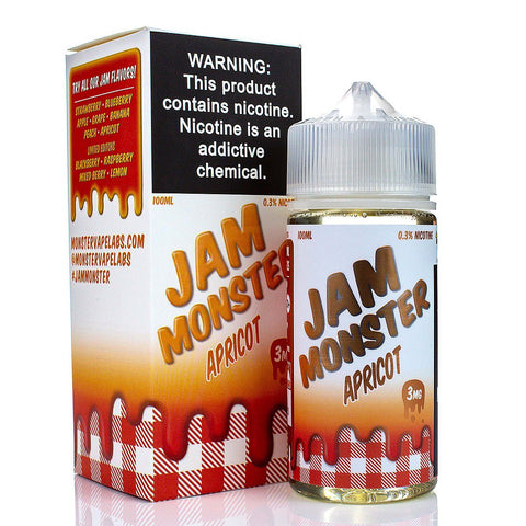 Apricot by Jam Monster 100ml E-Juice Jam Monster