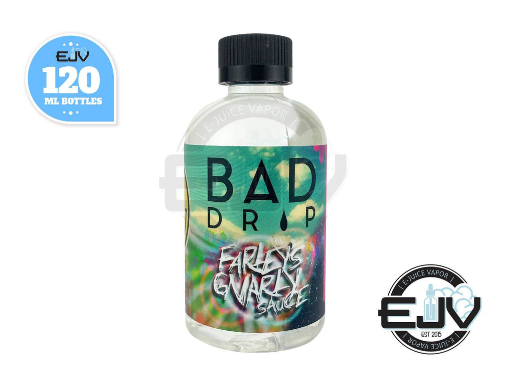 Farley's Gnarly Sauce by Bad Drip Ejuice 120ml