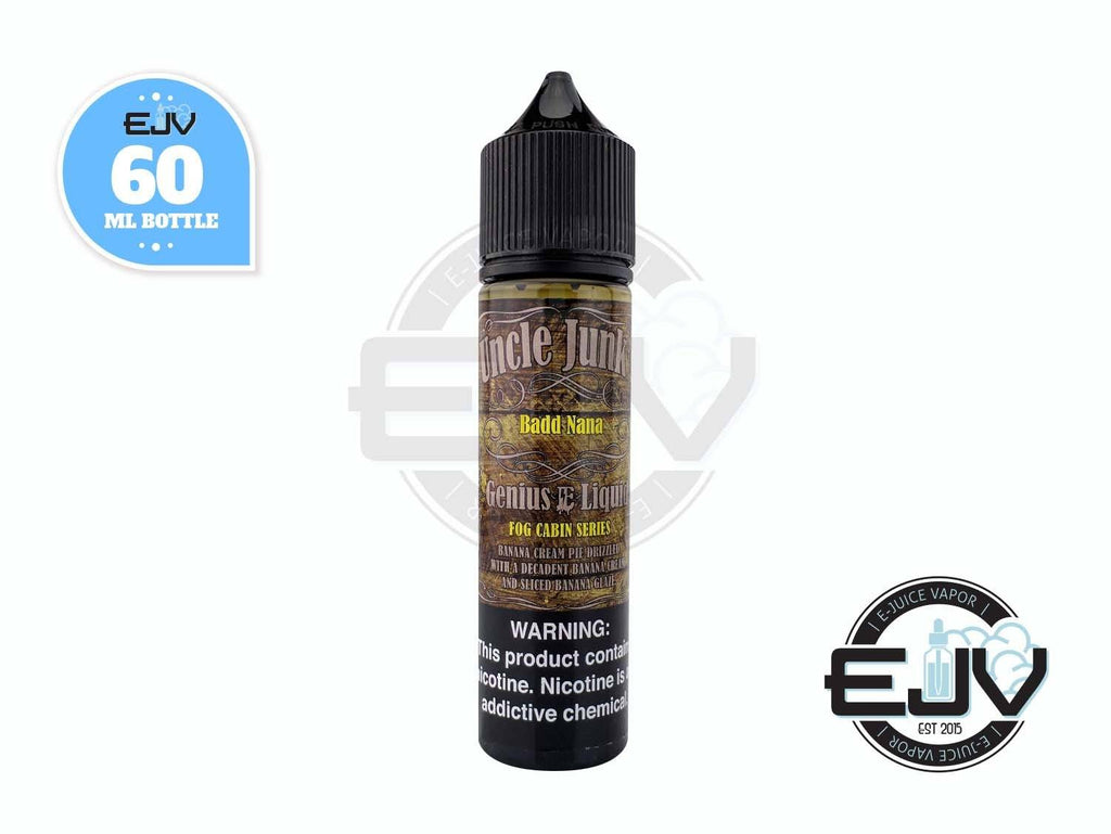 Badd Nana by Uncle Junk's EJuice 60ml E-Juice Uncle Junk's