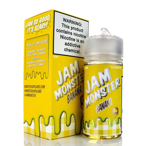 Banana by Jam Monster 100ml E-Juice Jam Monster