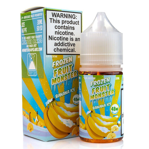Banana Ice by Frozen Fruit Monster Salt 30ml Nicotine Salt Frozen Fruit Monster Salt