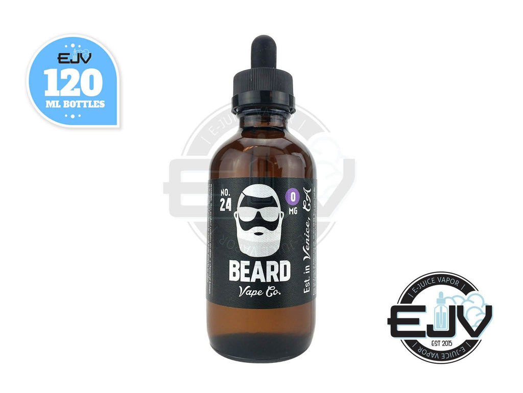 No. 24 by Beard Vape 120ml Discontinued Discontinued