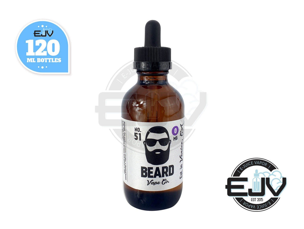No. 51 by Beard Vape 120ml Discontinued Discontinued