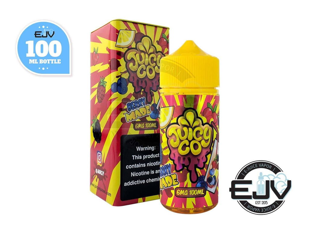 Berry Made by Juicy Co 100ml Discontinued Discontinued