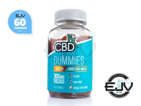 CBDfx CBD Gummies with Biotin for Hair and Nails 300mg - 60CT CBD CBDfx