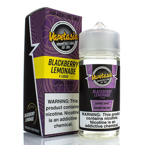 Blackberry Lemonade by Vape Lemonade 100ml E-Juice Vape Lemonade