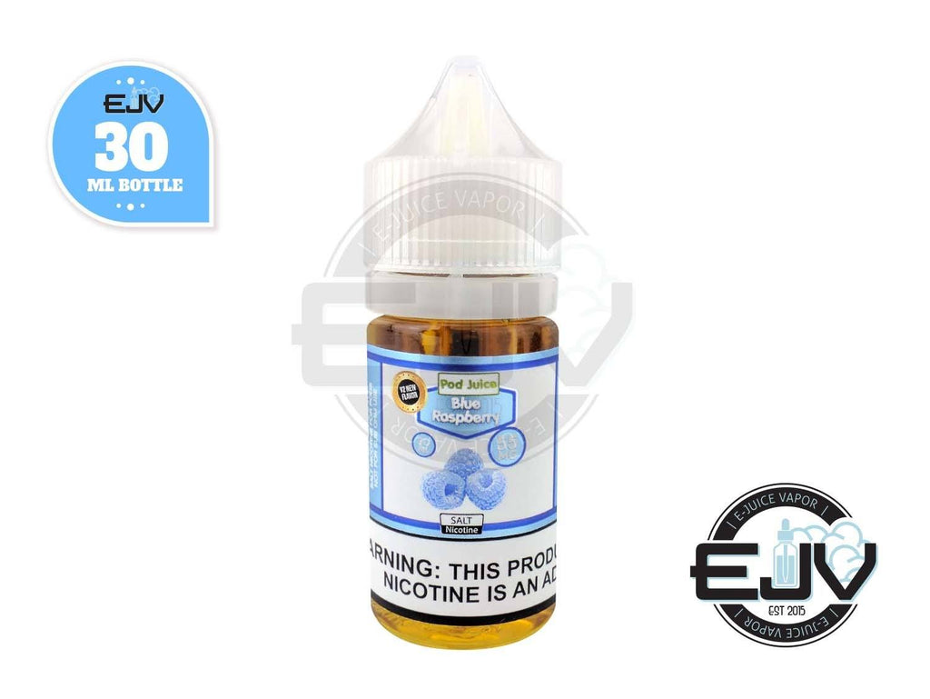 Blue Raspberry SaltNic by Pod Juice 30ml