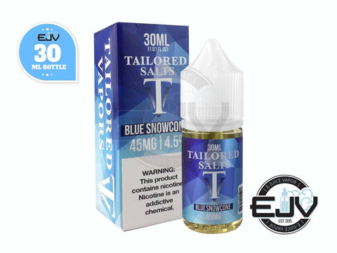 Blue Snowcone by Tailored Salts 30ml
