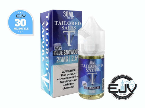 Blue Snowcone Iced by Tailored Salts 30ml