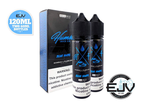 Blue Swirl by Humble x Flawless Collaboration 120ml E-Juice Humble x Flawless