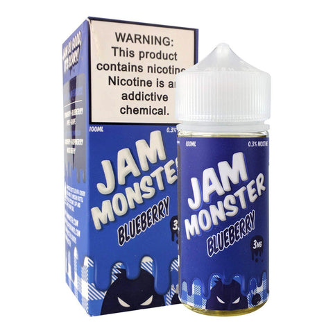Blueberry by Jam Monster 100ml E-Juice Jam Monster