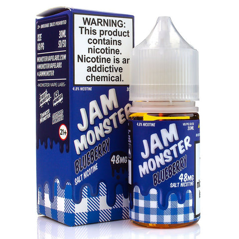 Blueberry by Jam Monster Salt Nicotine 30ml Nicotine Salt Jam Monster Salt