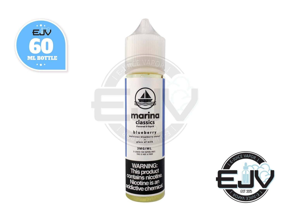 Blueberry by Marina Vape Classics 60ml E-Juice Marina Vape Classics