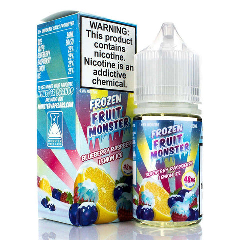 Blueberry Raspberry Lemon Ice by Frozen Fruit Monster Salt 30ml Nicotine Salt Frozen Fruit Monster Salt