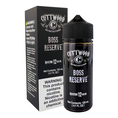 Boss Reserve by Cuttwood EJuice 120ml E-Juice Cuttwood