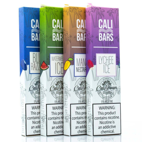 Cali Bars Disposable Device - 300 Puffs Disposable Vape Pens Cali Bars