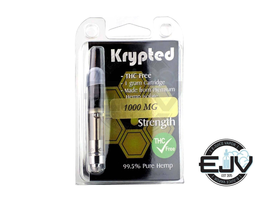 Krypted CBD 1 Gram Cartridge CBD Krypted CBD