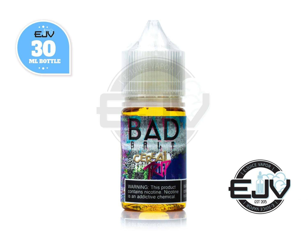 Cereal Trip Salt by Bad Drip Salt 30ml Nicotine Salt Bad Drip Salt