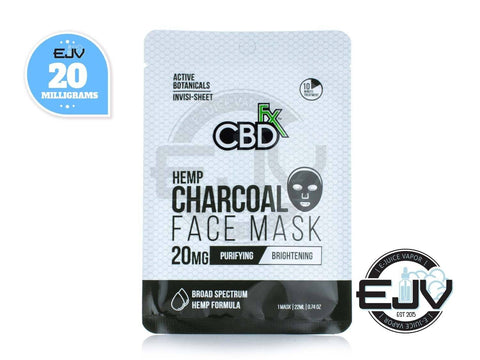 CBDfx CBD Charcoal Face Mask - 20mg CBD CBDfx