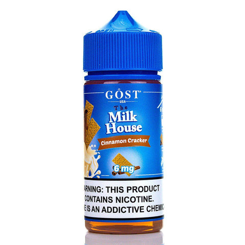 Cinnamon Cracker by The Milk House 100ml E-Juice GOST The Milk House