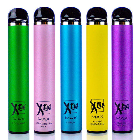 XTRA MAX Disposable Device - 2500 Puffs Disposable Vape Pens XTRA