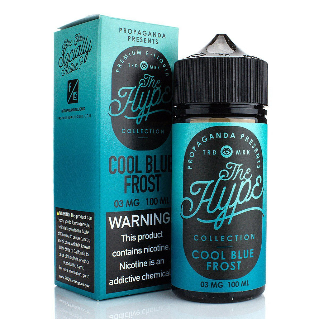 Cool Blue Frost by The Hype Collection 100ml E-Juice The Hype Collection
