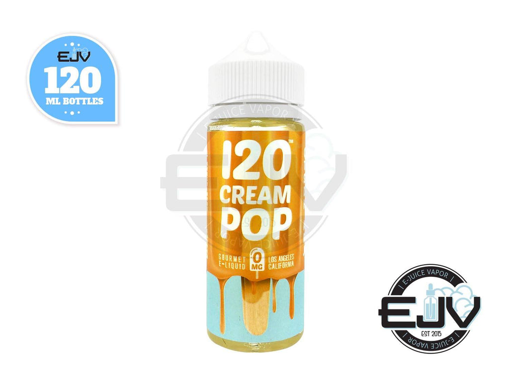 120 Cream Pop by Mad Hatter EJuice 120ml E-Juice Mad Hatter Juice