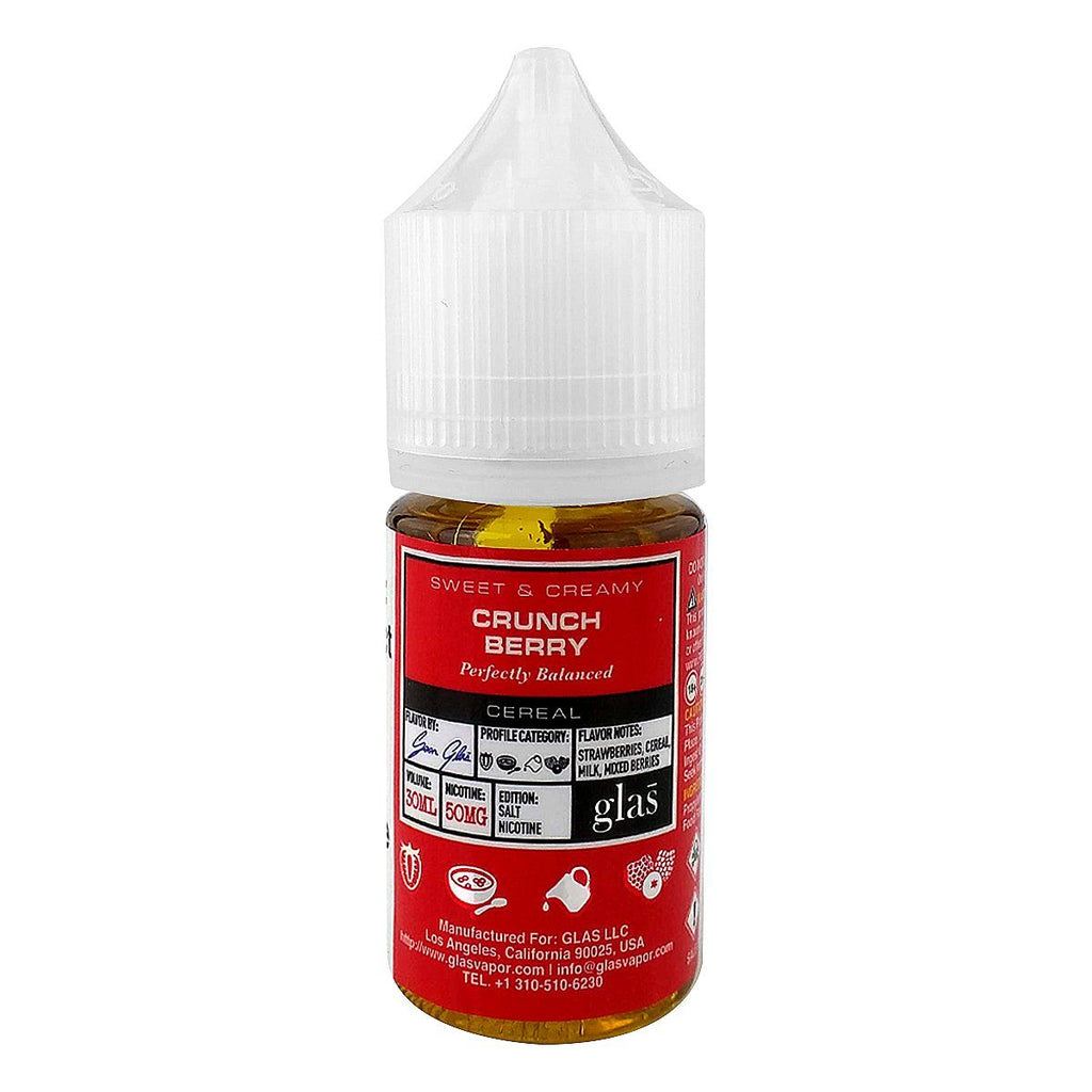 Crunch Berry by Glas Basix Nic Salts 30ml Nicotine Salt Glas Salt