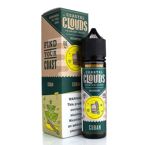 Tobacco by Coastal Clouds 60ml - (Cuban) E-Juice Coastal Clouds