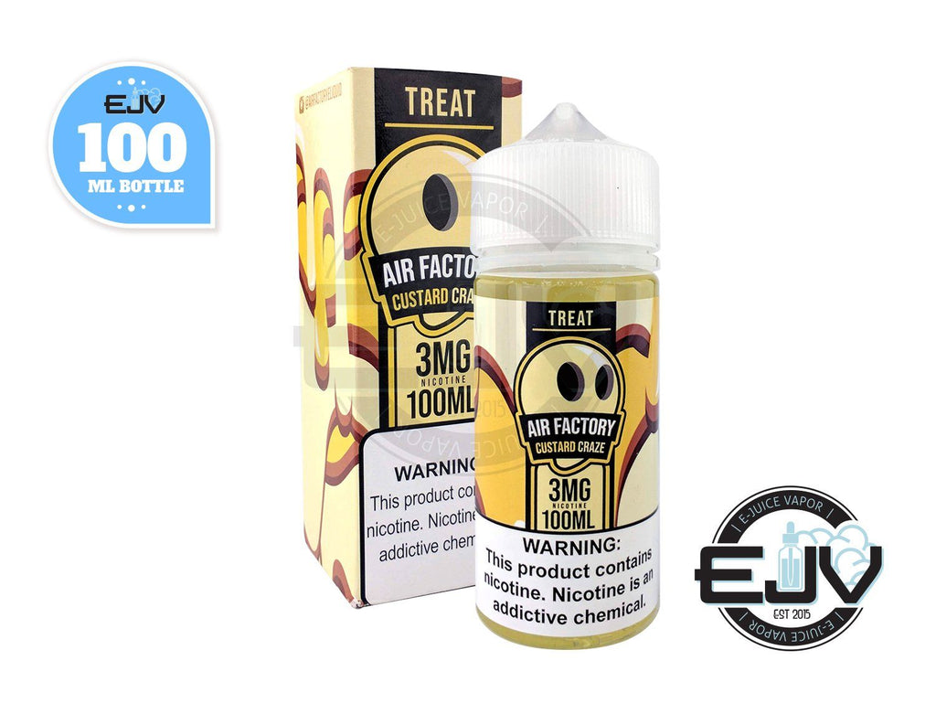 Custard Craze by Treat Factory 100ml E-Juice Treat Factory